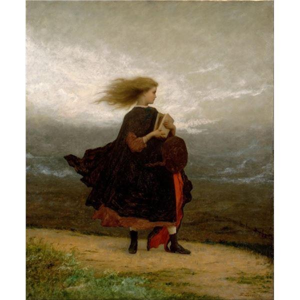 Eastman Johnson - The Girl I Left Behind Me