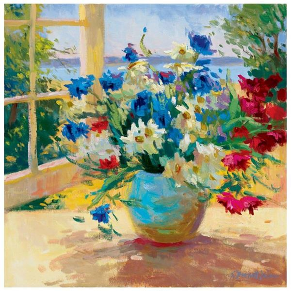 Daises and Pansies by Kaiser, S. Burkett
