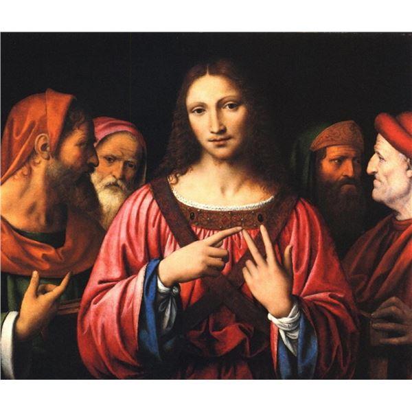 Bernardino Luini-Christ Among the Doctors