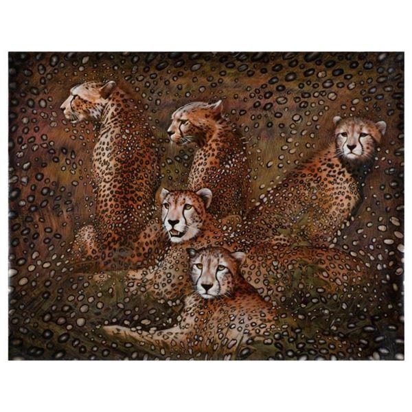 Leopards by Goncharenko, Vera