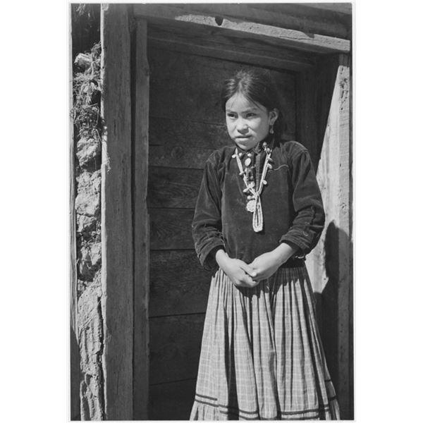 Adams - Dinee Girl 2 Canyon de Chelle, Arizona