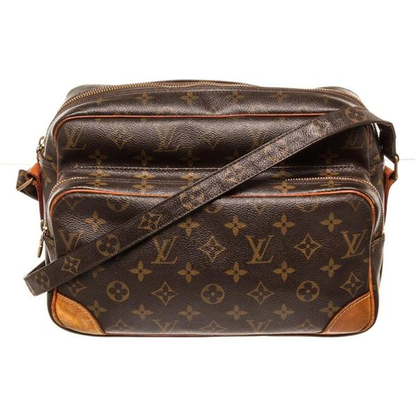 Louis Vuitton Brown Monogram Nile Crossbody Bag