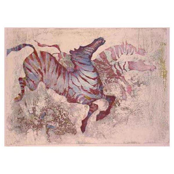 Zebras by Salomon, Edwin