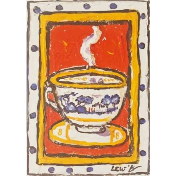 """Leslie Lew """"Red Dot Cup #5"""""""