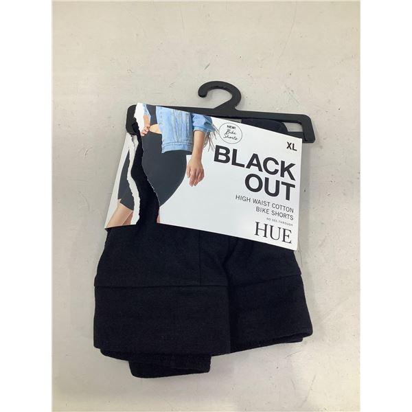Blackout High Waisted Cotton Bike Shorts Size XL