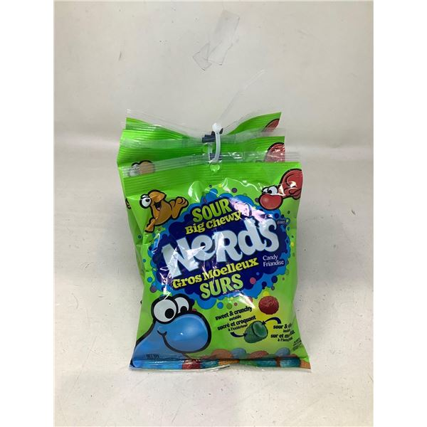Sour Big Chewy Nerds Lot Of 4