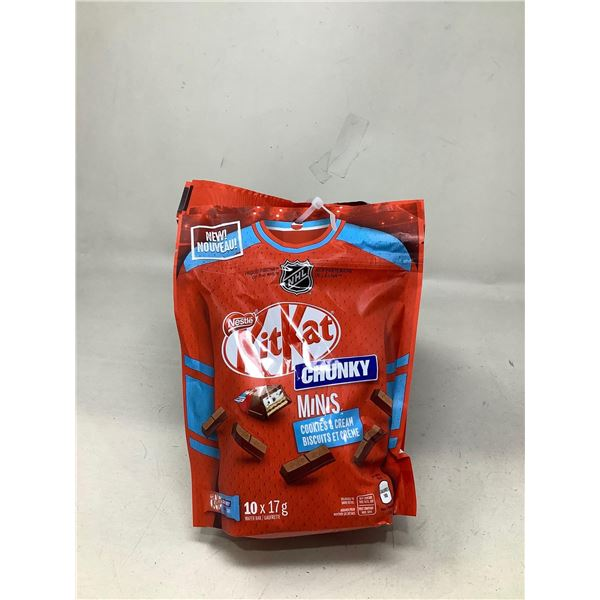 Kit-Kat Chunky Minis Cookies And Cream Lot Of 6