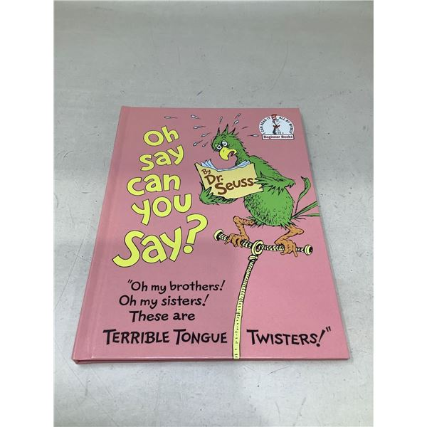 """""""Oh Say Can You Say?"""" By Dr. Seuss"""