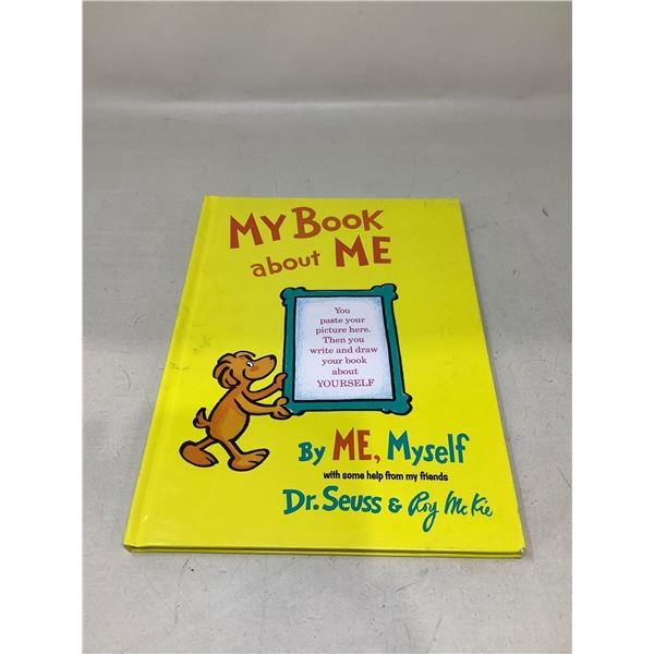 """""""My Book About Me"""" By Dr. Seuss & Roy Mckie"""