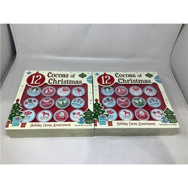 12 Cocoas Of Christmas Lot Of 2