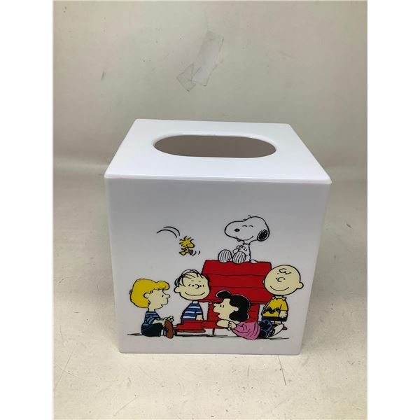 Charlie Brown Tissue Box