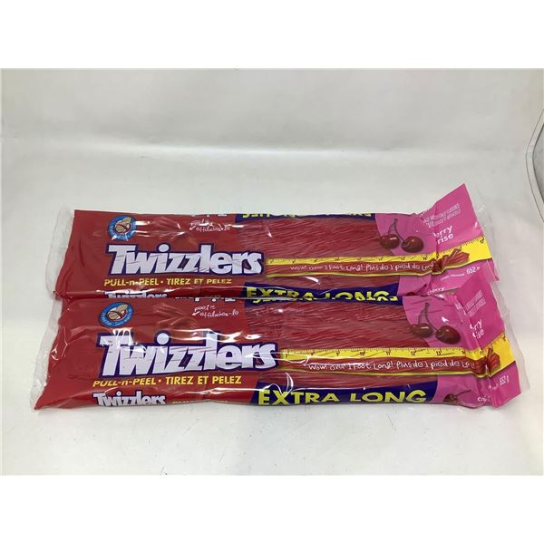 Twizzlers Pull n Peel Extra Long Candy (2 X 652G)