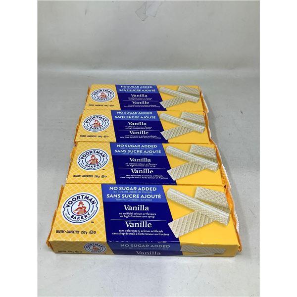 Voortman Bakery Vanilla Waffers(4 X 250G)