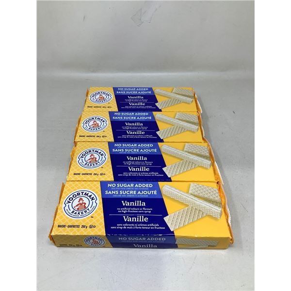 Voortman Bakery Vanilla Waffers (4 X 250G)