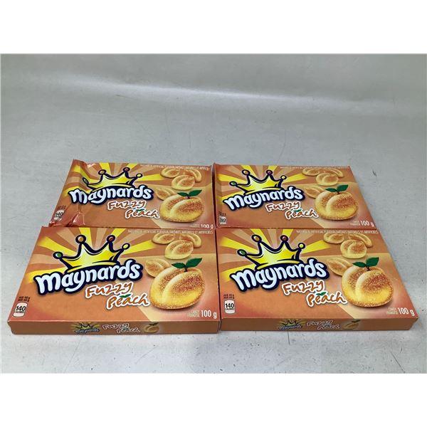 Maynards Fuzzy Peaches (4 X 100G)