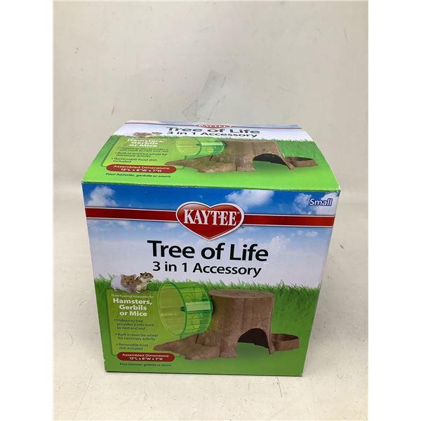 Kaytee Tree of life hamster wheel/house NEW