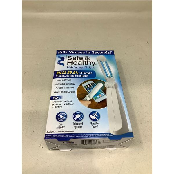 Safe & Healthy Disinfecting UV Light