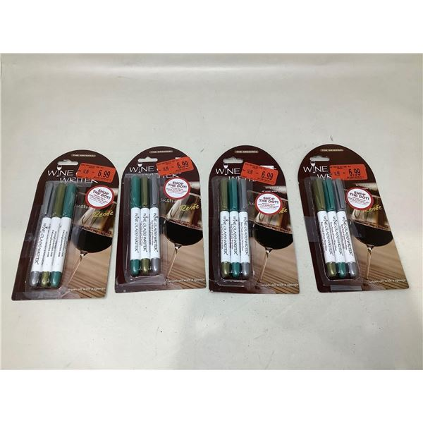 Dry Erase Wine Markers Lot Of 4