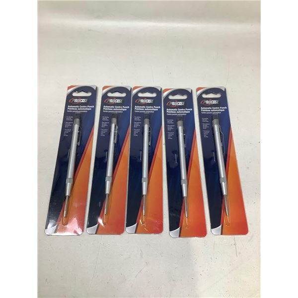 Procise Automatic Center Punch Lot Of 5