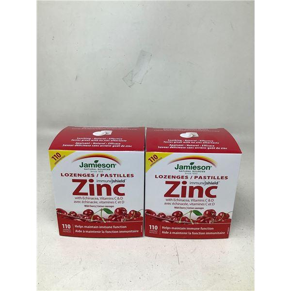 Jamieson Zinc Lozenges (2 X 110 Lozenges)