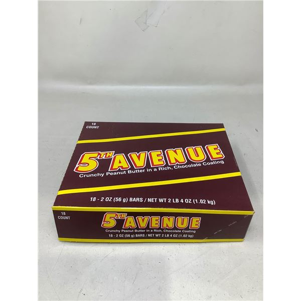 5th Avenue Crunchy Peanut Butter Bars (18 X 56G)