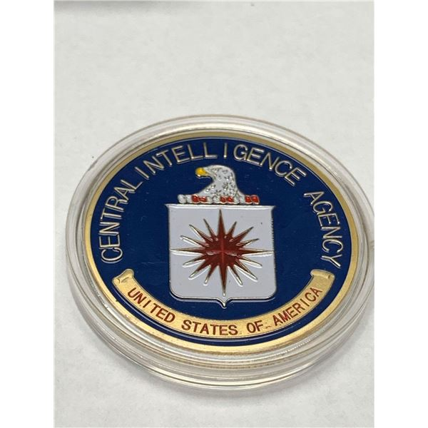 United States of America CIA Commemorative Washington D.C. Collector medallion limited issue