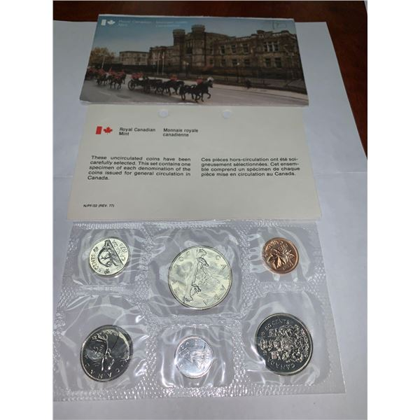 Royal Canadian Mint 1978 Proof Mint Sealed coin Set with original Envelope and certificate