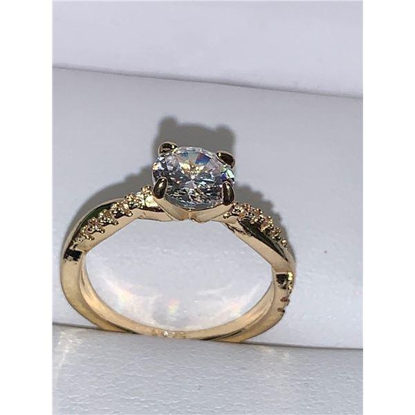 Ladies 1.0 Carat Brilliant Cut Solitaire S625 Engagement Ring