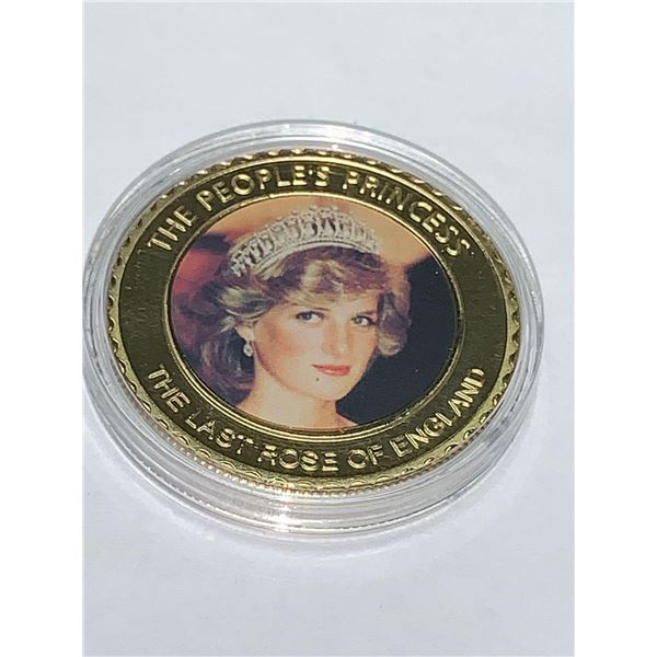 LadyDiana The People Princess The Last rose of England commemorative 1961-1997 Cased Coin