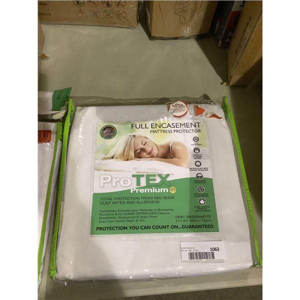 ProTex Premium Full Encasement Crib Mattress Protector