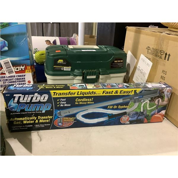 Turbo Pump Automatic Liquid Transfer Pump