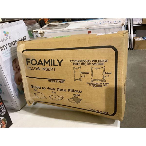 Foamily Pillow Insert