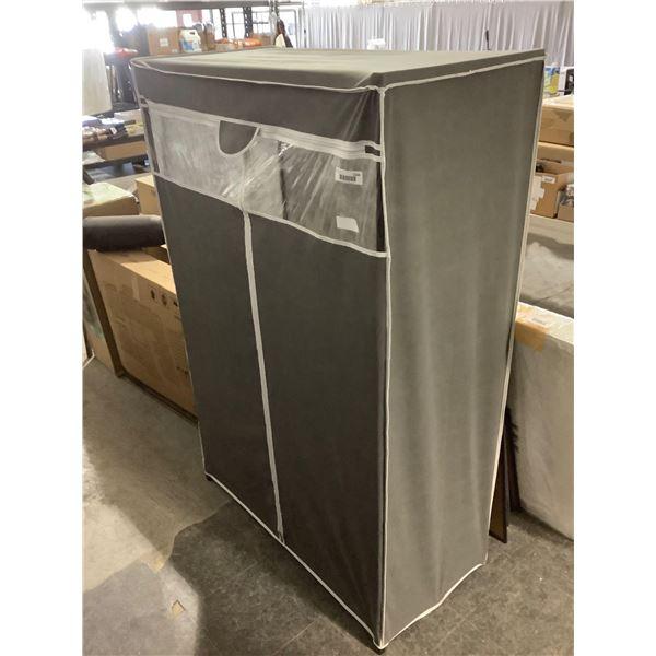Metal Frame Grey Box (40in x 19in x 61in)
