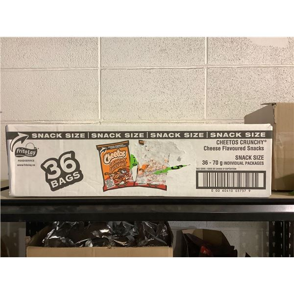 Case of Cheetos Crunchy Cheese Flavored Snacks (36 x 70g)