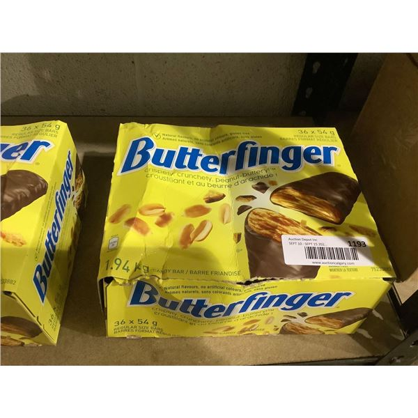 Butterfinger Chocolate Bars (36 x 54g)
