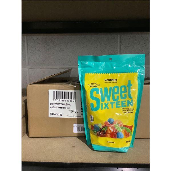 Case of Sweet Sixteen Original Candy (6 x 400g)