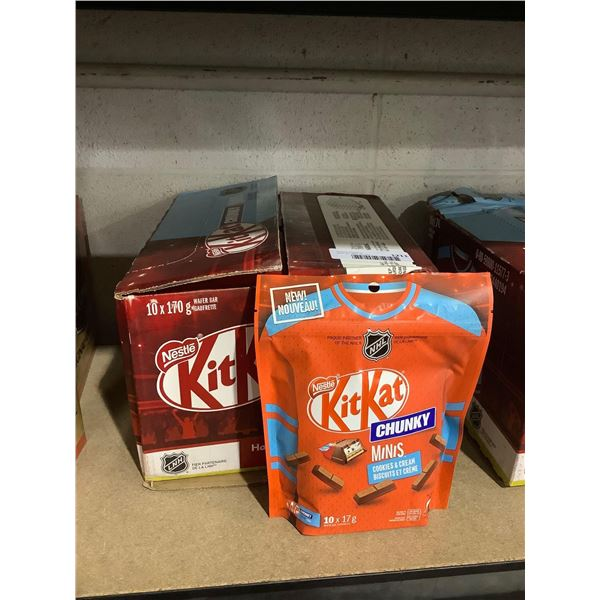 Case of Kit Kat Chunky Minis Cookies & Cream (10 x 170g)