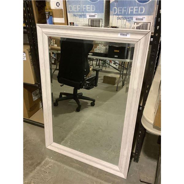 Wooden Frame Mirror (29.5in x 41.5in)