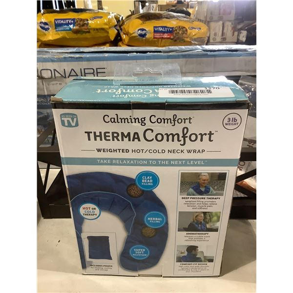 Calming Comfort 3lbs Weighted Therma Comfort Hot/Cold Neck Wrap