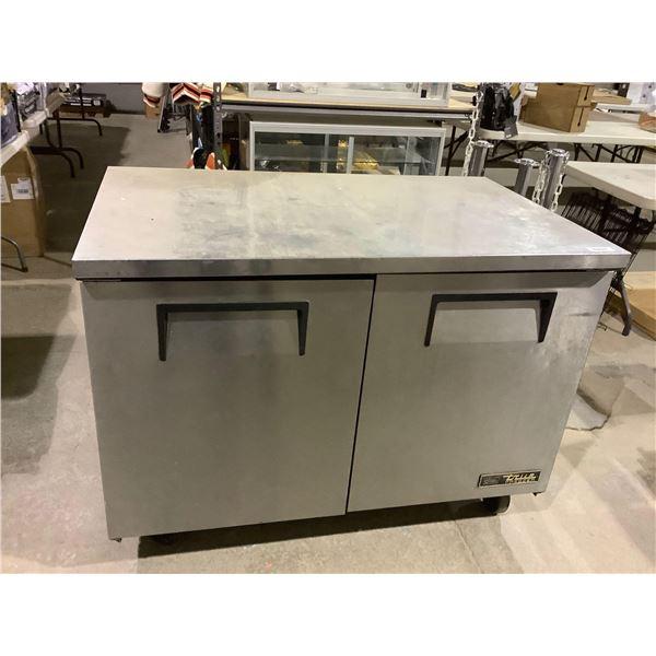 True Manufacturing Co. Solid 2-Door Undercounter Freezer- Model: TUC-48F-HC
