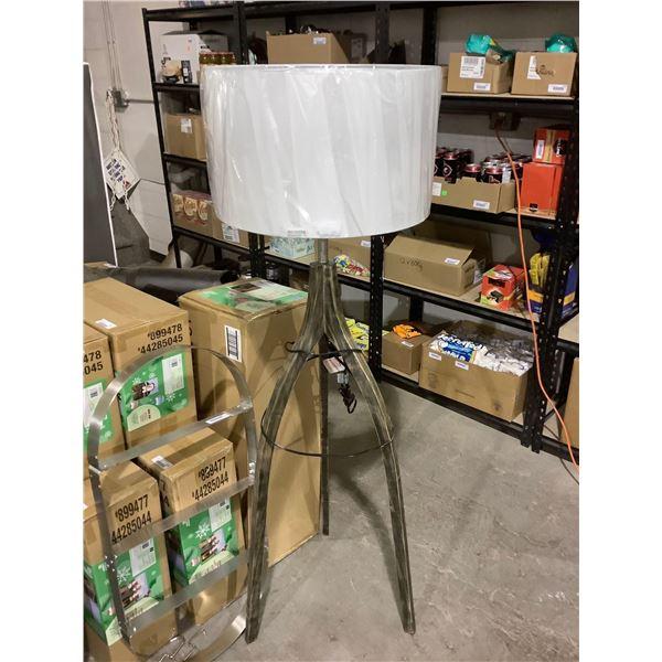 Lumirama Tripoli Floor Lamp (19-3/4in x 61in) (2 Boxes)