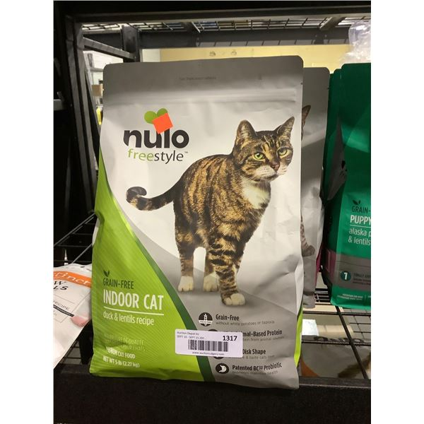 Nulo Freestyle Grain-Free Indoor Cat Duck and Lentils Recipe Cat Food (2.27kg)