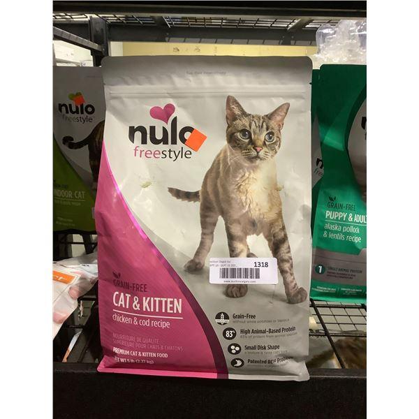 Nulo Freestyle Grain-Free Cat & Kitten Chicken & CodRecipe Cat Food (2.27kg)