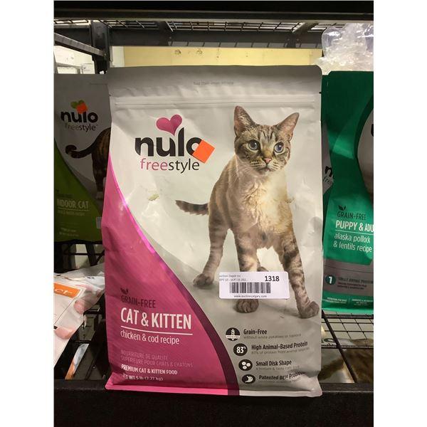 Nulo Freestyle Grain-Free Cat & Kitten Chicken & Cod Recipe Cat Food (2.27kg)