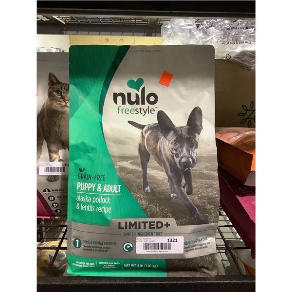 Nulo Freestyle Grain-Free Puppy & Adult Alaska Pollock & Lentils Recipe Dog Food (2.27kg)