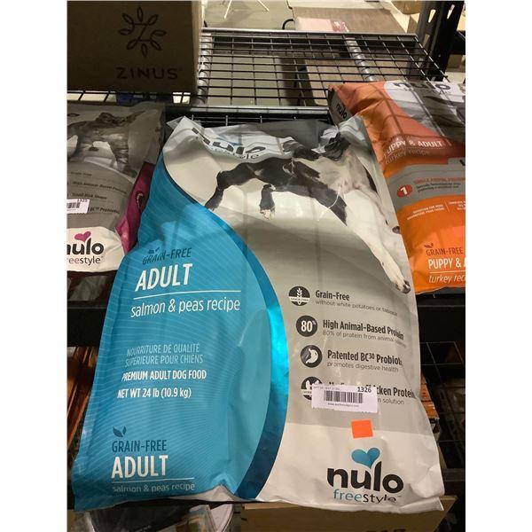 Nulo Freestyle Grain-Free Adult Salmon & Peas Recipe Dog Food(2.27kg)