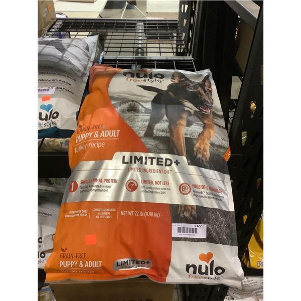 Nulo Freestyle Grain-Free Puppy & Adult Turkey Recipe Dog Food (9.98kg)