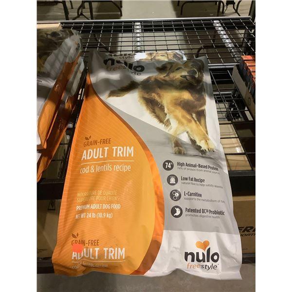Nulo Freestyle Grain-Free Adult Trim Cod & Lentils Recipe Dog Food (10.9kg)