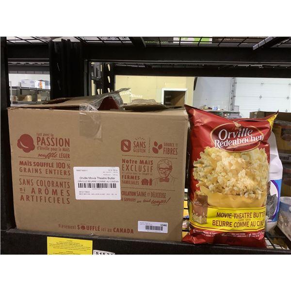 Case of Orville Redenbacher Movie Theatre Butter Popcorn (12 x 150g)