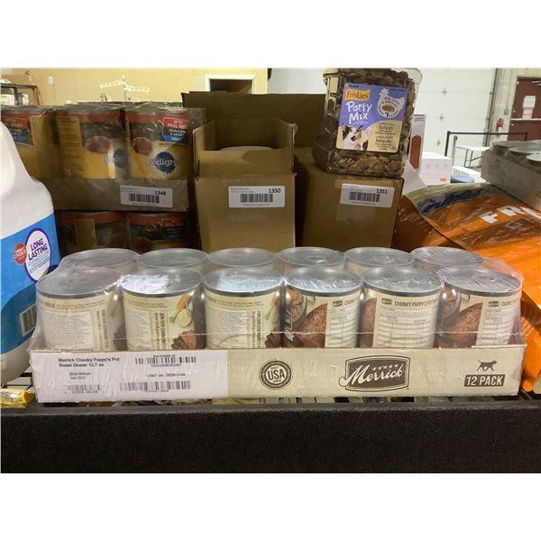 Merrick Grain-Free Chunky Pappy's Pot Roast Dinner Wet Dog Food (12 x 360g)
